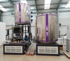 Double-Chamber Hot-Wall System for Plasma (Ion) Nitriding with working dimensions 1000 x 1200 mm.